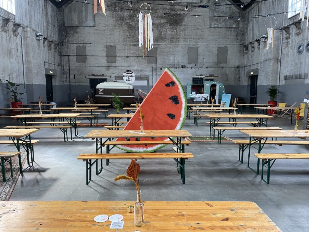 Watermeloen verhuur Event My Brand