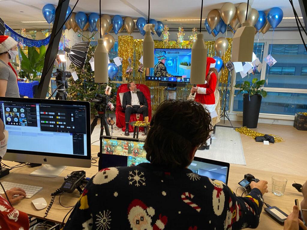 online kerst evenement